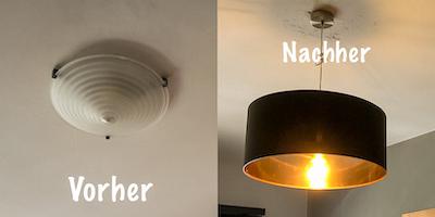 Neue Lampe anschließen – so wird es gemacht!