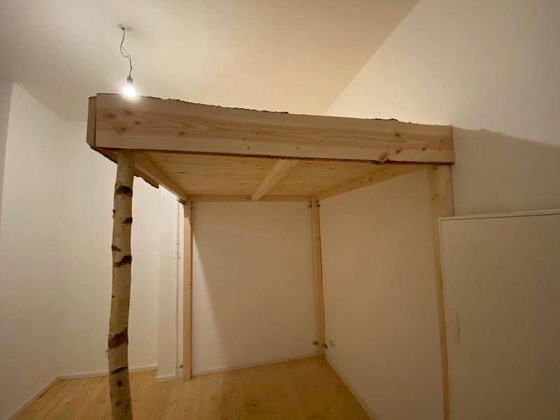 Hochbett selber bauen