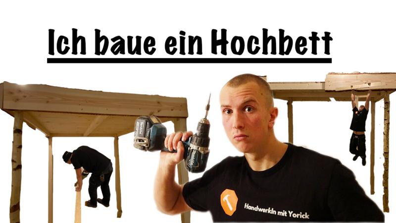 Hochbett selber bauen! – DIY Anleitung vom Handwerker in 5 Schritten