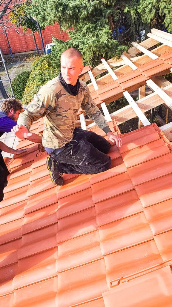 Dach selber decken